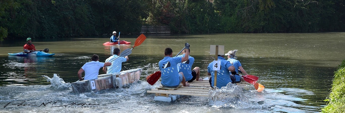 Hurst Warne Property Management 2019 Odiham Raft Race