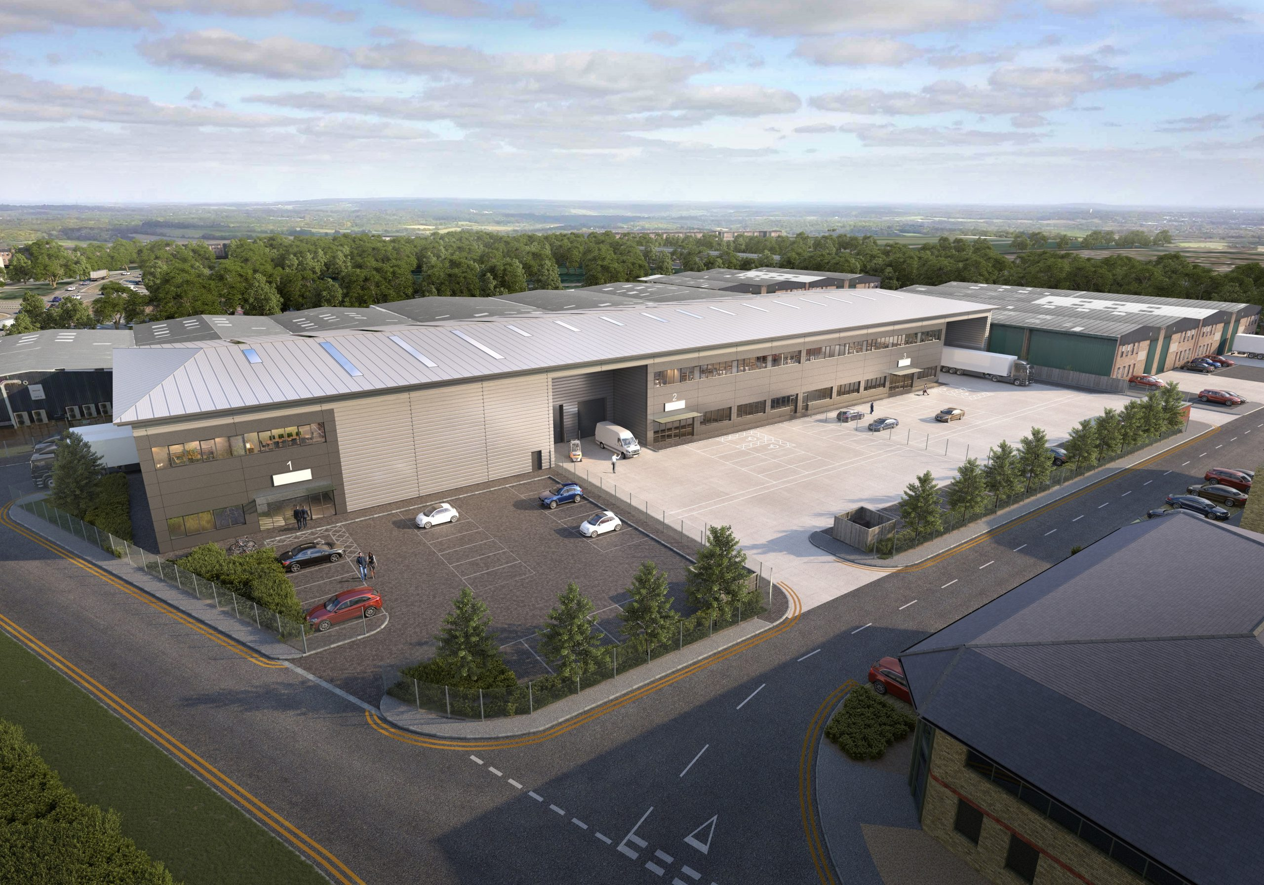 Orchard Street Secures Planning for Carbon Neutral South East Industrial Distribution Hub